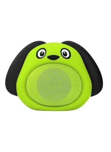 iCutes Yeşil Köpek Kablosuz Bluetooth Hoparlör M818 Yeşil
